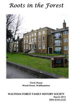WFFHS Journal, March 2012
